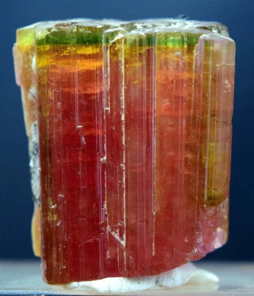 44 Gram Huge Size Terminated & Undamaged Watermelon Tourmaline Crystal Paprok Afghanistan - 34*28*19 mm
