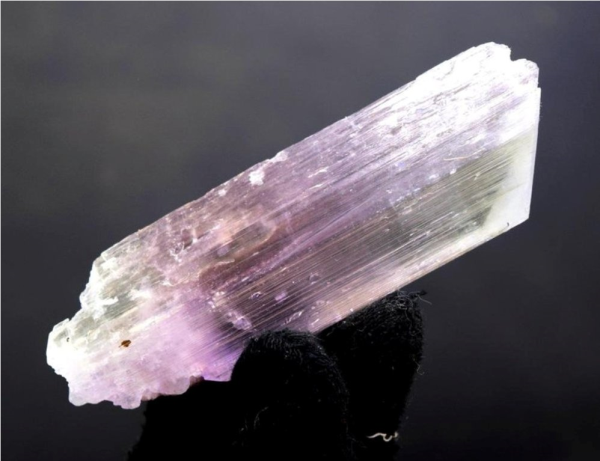 MP09-34 , 59 Gram V Shape Terminated Complete & Undamaged Natural Pink Kunzite Crystal from Afghanistan ~ 90*27*13 mm