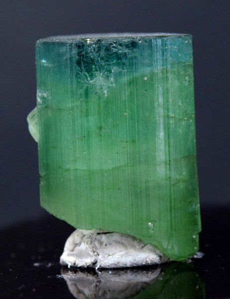 Natural Greenish Blue Color Tourmaline Crystal from Paproke Afghanistan -91.50 carats - 27*20*19 mm