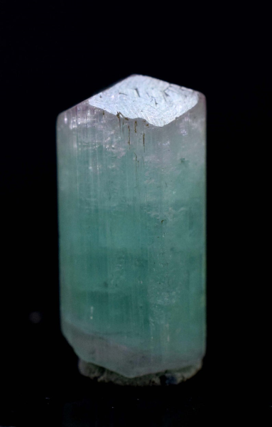 MP03-250 , 46 carats Terminated & Undamaged Pink Cap Paraiba Color Tourmaline Crystal from Paproke Afghanistan - 26*14*14 mm