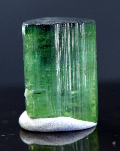 MP03-132 , 25.65 Carats Terminated Blue Cap Afghan Tourmaline Crystal @ Paproke - 20*14*10 mm