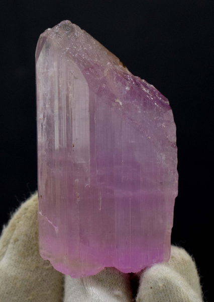 84 Gram V-Shape Terminated Pink Color Kunzite Natural Crystal from Afghanistan - 67*36*18 mm