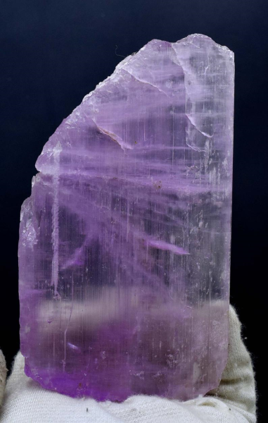 Pink Kunzite Crystal from Afghanistan - 262 Gram - 131*74*14 mm