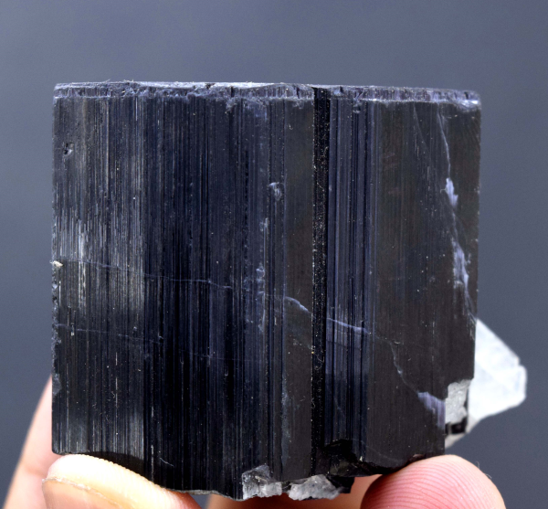Tourmaline with Cleavlandite from Paprok Afghanistan- 126 Gram- 40*50*36 mm