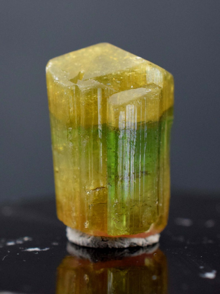MP03-215 , 54 cts Terminated Undamaged Tri-Color Tourmaline Crystal