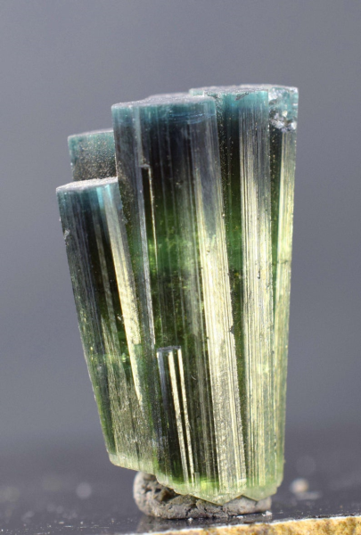 MP03-281 - 37 cts Double Terminated Blue Cap Tourmaline Crystal - 26*15*10 mm