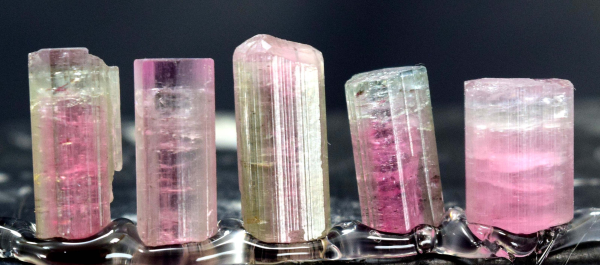 Natural tourmaline Lot from Paproke - 31.95 cts
