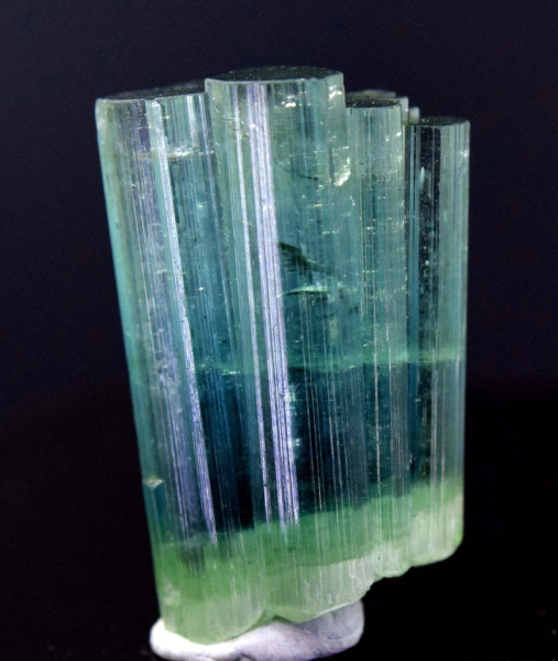 MP01-51 - 28.05 carats Double Terminated Bi-Color Tourmaline Crystals Bunch from Paproke Afghanistan - 24*15*09 mm