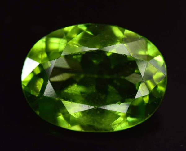 5.10 CTS Top Grade Natural Olivine Green Natural Peridot Gemstone ~15*10*6mm