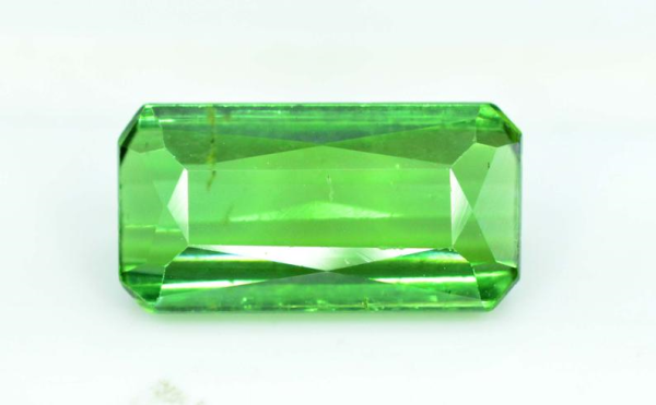 2.70 carats eye clean Untreated Green Color Tourmaline Loose Gemstone from Afghanistan - 11*6*4 mm