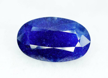 7.75 cts Extremely Rare Blue Color Natural Afghanite Gemstone from Badakhshan Afghanistan - 15*09*05 mm