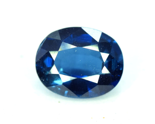 1.20 carats Untreated Indicolite Tourmaline Loose Gemstone from Afghanistan - 07*06*04 mm