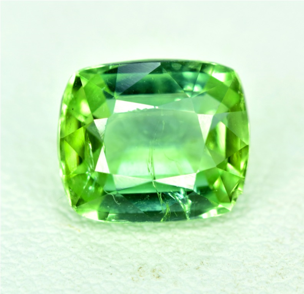 2.30 cts Natural Green Color Tourmaline Gemstone from Afghanistan - 9*7*5 mm