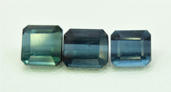 Naturl Blue Tourmaline Gemstones Parcel , Indicolite Tourmalines from Afghanistan - 2.90 carats