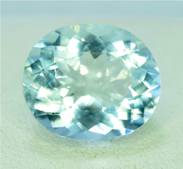 Aquamarine Gemstone , Aquamarine cut stone , Aquamarine Stone - 6.55 cts , 13*11*07 mm