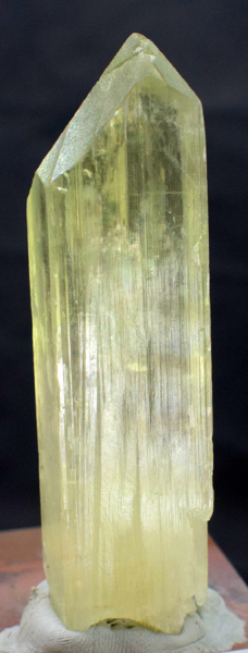 Triphane Crystal , Kunzite Crystal , Natural Yellow Facet Grade Kunzite from Afghanistan - 71 Gram , 82*28*23 mm