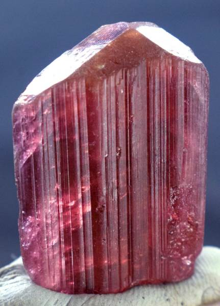 Tourmaline Crystal , Rubelite Tourmaline Crystal from Badakhshan Afghanistan - 13 Gram, 30*20*13mm