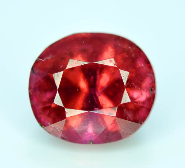 Rubelite Tourmaline Gemstone , Tourmaline Gemstone - 4.20 cts , 10*08*07 mm