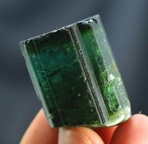 Tourmaline Crystal , Terminated Natural Tourmaline , Raw Tourmaline from Afghanistan - 41 Gram , 35*26*20 mm
