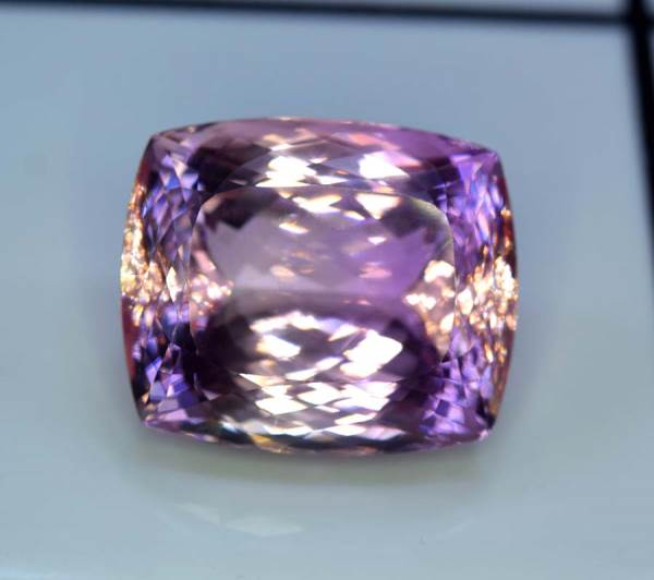 Kunzite Gemstone , Incredible Natural Pink Kunzite Cut Stone from Afghanistan - 125.60 cts , 30*25*19 mm