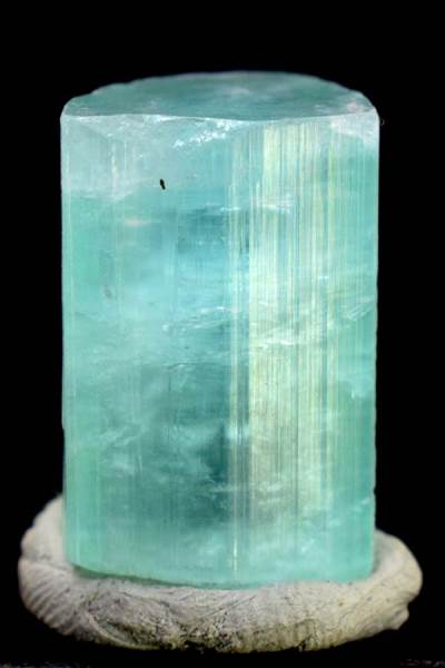 Tourmaline , Terminated Seafoam Tourmaline Crystal from Afghanistan - 80 cts - 25*18*17 mm