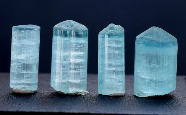 Tourmaline Crystals , Terminated Paraiba Like Color Tourmaline Crystal from Afghanistan - 35.50 cts - 15*10*09 mm