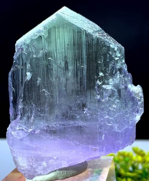 Spodumene Kunzite Natural Stone from Afghanistan 75*28*10 mm 36 Gram Bi Color Kunzite Crystal