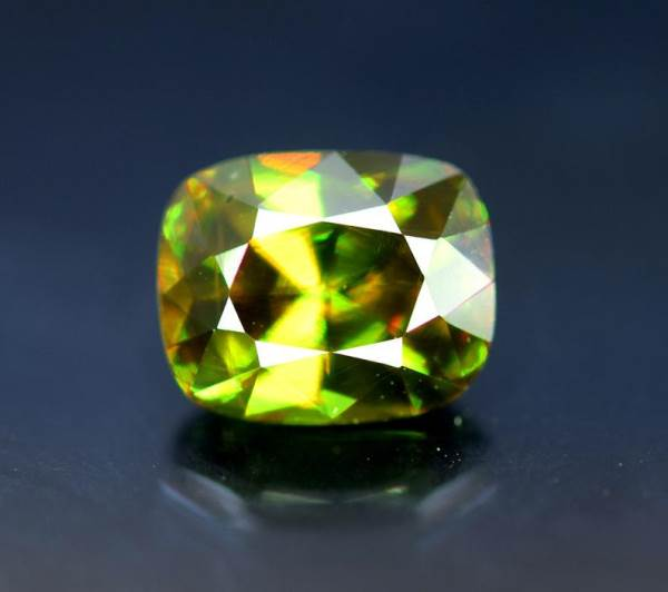 Natural Sphene Chrome Gemstone from Pakistan - 2.15 cts , 8*6*5 mm