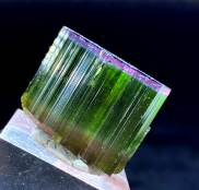 Natural Tricolor Tourmaline Crystal from Paprock - 146.05 cts , 27*23*21 mm