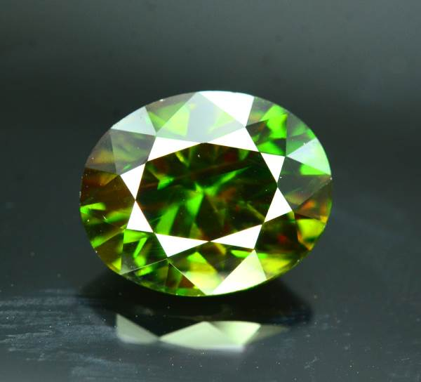 Natural Chrome Sphene Gemstone - 7.20 cts , 13*10*08 mm