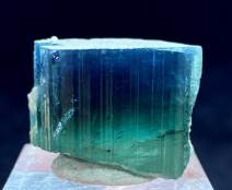 Natural Blue Tourmaline Crystal from Paprock - 85.60 cts , 26*20*14 mm