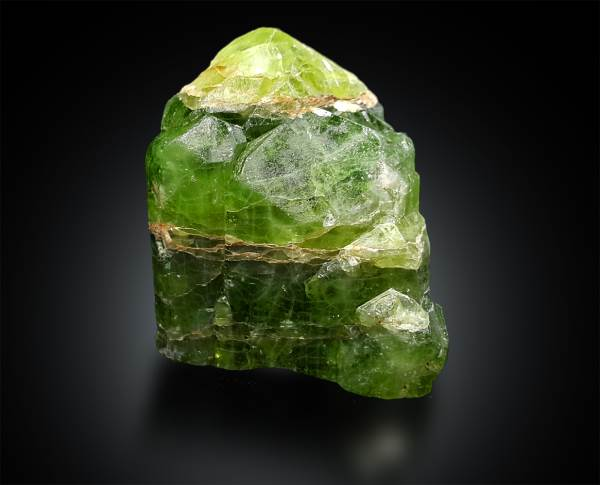 Natural Peridot Crystal Specimen from Supat Pakistan - 114 Gram , 45*44*33 mm