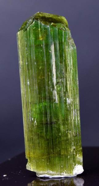 Natural Green Tourmaline Crystal From Paproke Afghanistan - 149.55 cts , 65*23*10 mm