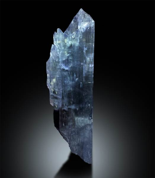 Natural Bluish Kunzite Crystal from Afghanistan - 1011 g , 260*81*24mm