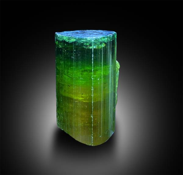 Natural Watermelon Tourmaline Crystal - 16.65 g , 30*18.5*19 mm
