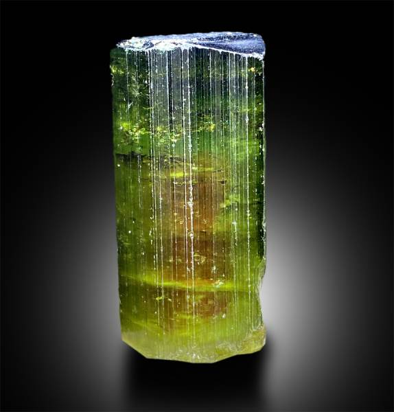 Natural Watermelon Tourmaline Crystal - 20.88 g , 37*17*16.5 mm