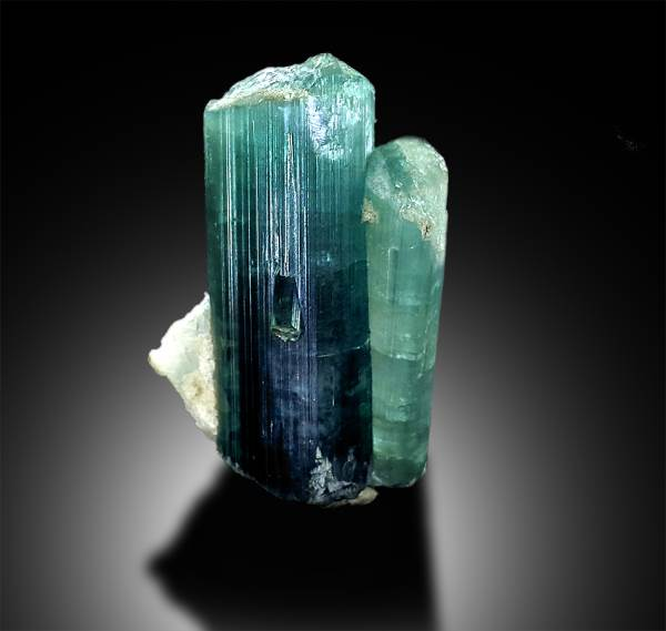 46 carats Terminated /& Undamaged Pink Cap Paraiba Color Tourmaline Crystal from Paproke Afghanistan 26*14*14 mm Tourmaline